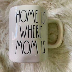 New Rae Dunn Home is Where Mom Is Coffee Cocoa Mug
